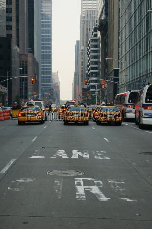 cena da rua de new york