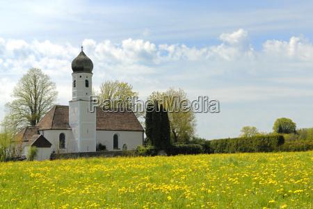 igreja capela primavera peregrinacao starnberg ilkahoehe