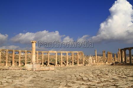 templo jordania antigo antiguidade ruinas saudita