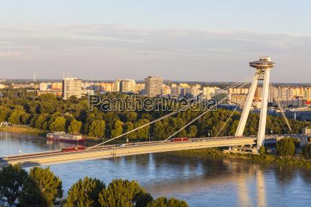eslovaquiabratislavaver novy most ao por do