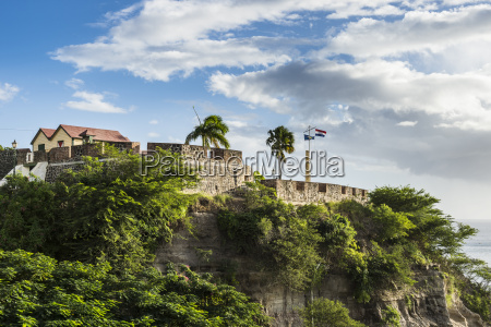fort oranje oranjestad capital of st