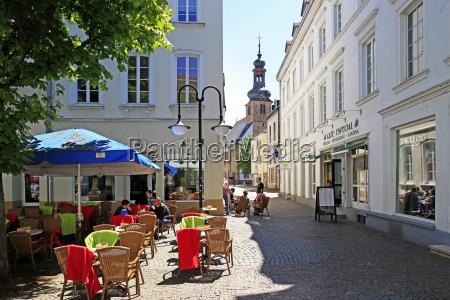 street cafe on st johanner markt