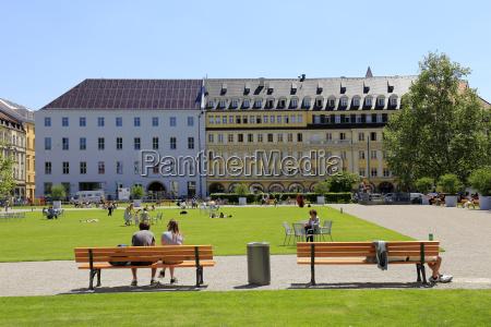 marienhof square munich upper bavaria bavaria