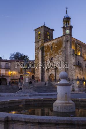 church of san martin trujillo caceres