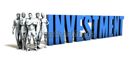 investment business concept
